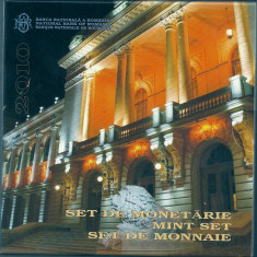 ROMANIA SET MONETARIE 2010, 150 ANI -infiintarea UNIVERSITATII IASI - Moneda Romania