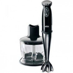 Mixer Braun vertical MR730, 600 W, Negru/Inox - Mixere