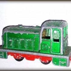 Macheta Feroviara Matchbox, 1:64, Locomotive - Locomotiva Matchbox Superfast - Shunter Nr. 24 - 1978
