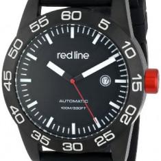 Red line Men's RL-50045-BB-01-BK-ST Mileage | 100% original, import SUA, 10 zile lucratoare a12107 - Ceas barbatesc Red Line, Mecanic-Automatic