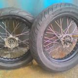 "Jante roti supermoto GRIMECA 17"" - Dezmembrari moto"
