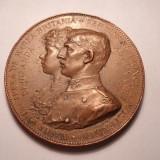 Medalie logodna Principelui Ferdinand cu Principesa Maria