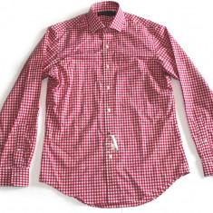 Camasa barbati Ralph Lauren, Maneca lunga - Camasa Ralph Lauren Gingham red L si XL (sub pretul de achizitie)