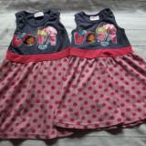 Superbe rochite Dora-2 bucati-pt 2/3ani si 3/4 ani(merg si pt gemene)