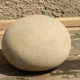 Arheologie - Piatra forma ovala interesanta decor