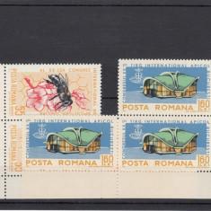 ROMANIA 2005, LP 610, 3 SERII APICULTURA, MNH - LOT 0 RO - Timbre Romania