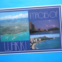 HOPCT 19624 INSULELE HAWAI [ SUA ] -WAIKIKI [ NECIRCULATA ], Printata