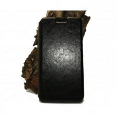 Husa Allview V1 Viper E piele ecologica neagra - Husa Telefon Allview, Negru