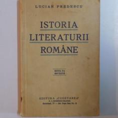 Studiu literar - ISTORIA LITERATURII ROMANE de LUCIAN PREDESCU