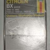 Citroen BX - Owners Workshop Manual, Haynes - Manual auto
