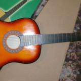 Chitara clasica pentru copii si incepatori culoare portocalie