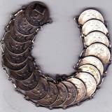 Bratara din monede vechi argint 71 grame