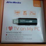 TV TUNER USB DVB-T AVER MEDIA AVER TV VOLAR HD NOU