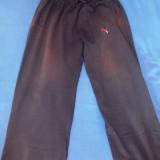 Pantaloni de trening PUMA marimea XL / Pantalon PUMA mar. XL / PUMA XL - Trening barbati Puma, Culoare: Negru, Bumbac