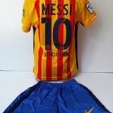 Echipamente sportive copii FC.Barcelona Messi compleu fotbal model nou 2016 - Set echipament fotbal, Marime: Alta