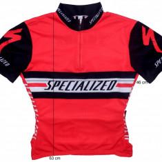 Echipament Ciclism, Tricouri - Tricou bicicleta ciclism SPECIALIZED original ( dama L spre M) cod-169136