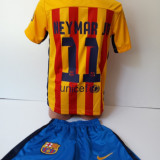 Echipamente sportive copii FC.Barcelona Neymar Jr compleu fotbal model nou 2016