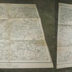 Harta militara Romania 1915: Transilvania Regimentul 21 infanterie- Bateria 2.