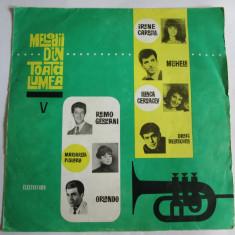 RAR! VINIL L.P. MELODII DIN TOATA LUMEA V EDE-0298 DIN 1966 - Muzica Pop electrecord