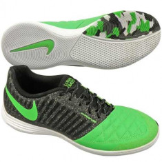 Adidasi barbati Nike, Piele naturala - Noi! Pantofi fotbal indoor, marca NIKE Lunargato II, barbati marimea 45.5