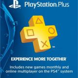 PlayStation Plus Membership sau credit - PS3/ PS4/ PS Vita cont US 1USD = 4.5RON