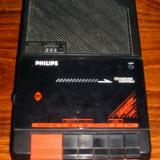 Inregistrator de casete portabil Vintage Philips D6260