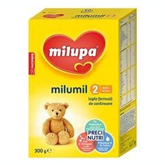 Milumil 2 Lapte de Continuare 6+ Luni 300gr Cod: 5900852997617