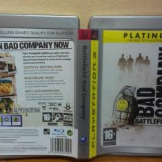 Battlefield: Bad Company (PS3)) (ALVio) + sute de alte jocuri ( VAND / SCHIMB ) - Jocuri PS3 Ea Games, Shooting, 16+