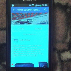 Vand Samsung Galaxy Trend Plus - Telefon mobil Samsung Galaxy Trend Plus, Negru, Neblocat