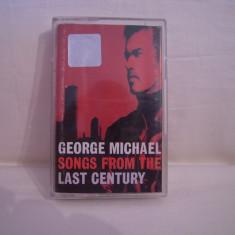 Vand caseta audio George Michael-Songs From The Last Century, originala, raritate! - Muzica Pop sony music, Casete audio