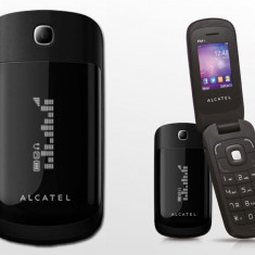 Telefon Alcatel, Negru, Nu se aplica, Neblocat, Fara procesor, Nu se aplica - Alcatel OT-668