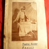 Carte poezie copii - Maria Th. Brebenaru si Her Dumitrescu - Teatru Scolar si Poezii - Ed. 1936 - Ed. Max Kendler