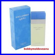 PARFUM DAMA DOLCE&GABBANA LIGHT BLUE 100ML - Parfum femeie Dolce & Gabbana, Apa de toaleta