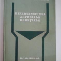 HIPERTENSIUNEA ARTERIALA ESENTIALA - TIBERIU MOLDOVAN * STELLA ANGHEL ( 1077 ) - Carte Cardiologie