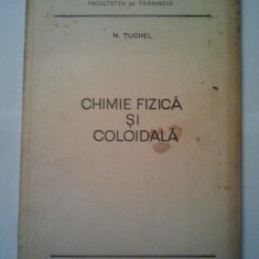 CURS DE CHIMIE FIZICA SI COLOIDALA - N. TUCHEL ( 1109 ) - Curs Medicina