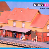 Gara Becking, Kibri HO 9376, Scara HO(1:87) - Macheta Feroviara Alta, Accesorii