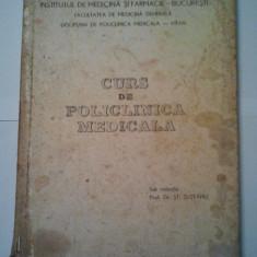 CURS DE POLICLINICA MEDICALA - ST. SUTEANU ( 1089 ) - Curs Medicina