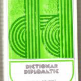 Dictionar diplomatic - Enciclopedie
