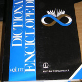 CC34 - DICTIONAR ENCICLOPEDIC - VOLUMUL III - EDITATA IN 1999 - Enciclopedie