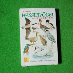 Joc de carti pentru copii, Wasservogel (pasari de apa), cu imagini foarte frumoase, instructiuni in limba germana, joc complet, 54 cartonase, educatie - Jocuri Board games