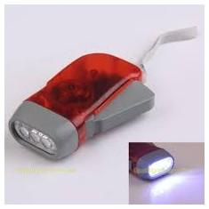 Lanterna fara baterie lanterna fara baterii lanterna manuala Hand Press LED Torch Flashlight Lamp lanterna dinam si led-uri. LIVRARE IMEDIATA!
