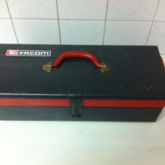 Cutie de Metal de Transport scule Marca FACOM cu doua sertare