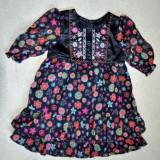 Rochita eleganta de voal, marca Matalan, fetite 12-18 luni