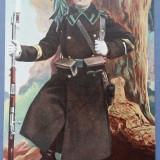 Carte Postala, Necirculata, Printata - Salutari din Armata Romana - Vanator - Necirculata