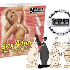24 Buc. Prezervative Secura Sex4Fun .