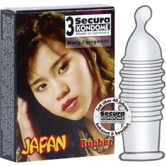 Prezervative - Prezervativ Secura Japan 3 buc.