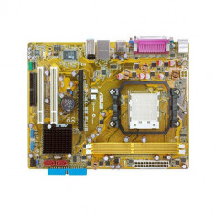 PLACA DE BAZA AM2 ASUS M2N-MX SE PLUS DDR2/PCI-EXPRESS  VIDEO MAX 256MB + PROCESOR AMD ATHLON 64 LE 1620 2.40GHZ + COOLER   GARANTIE 6 LUNI, Pentru AMD, Contine procesor, MicroATX