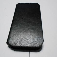 HUSA ALLVIEW C6 QUAD - Husa Telefon Akella, Negru, Piele, Cu clapeta