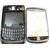 Carcasa BlackBerry Torch 9800 negru