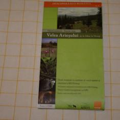 Valea Ariesului de la Albac la Vartop - Harta Turistica - Sc. 1:35000 - Turism munte Romania